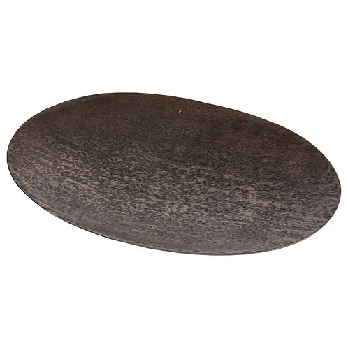 Amber Oval Platter - Copper