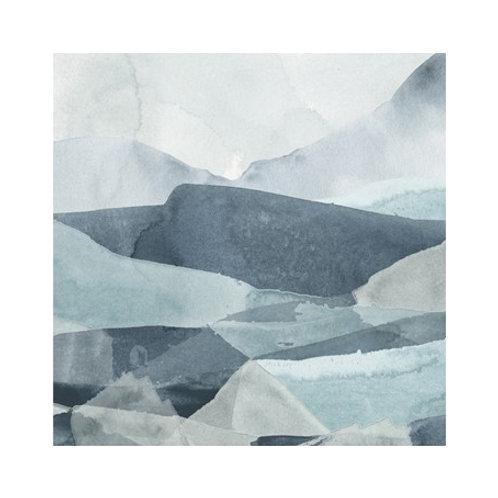 Blue Range III - Canvas Art