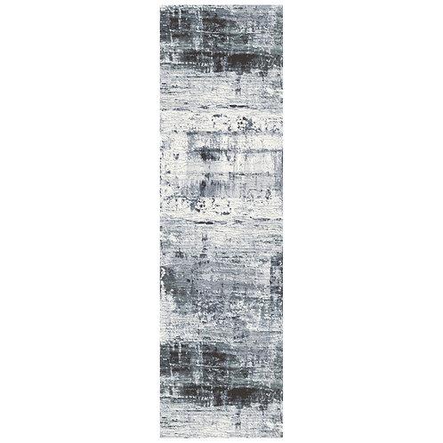 Galleria - Watermark III Runner Rug - Ice Blue