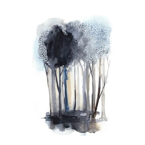 Tranquil Coppice II - Canvas Art