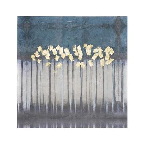 Embellished Treeline II - Canvas Art