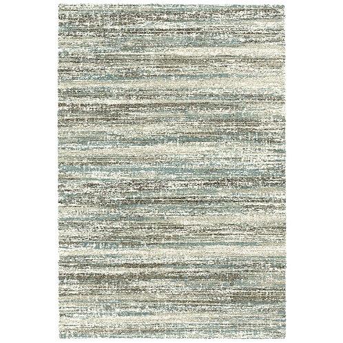 Mehari -  Sketch III Rug - Blue/ Brown