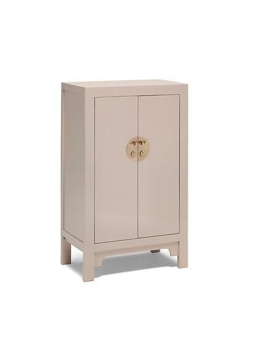 40646 - The Nine Schools Qing Oyster Grey Medium Cabinet
