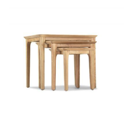 Wardley Oak - Nest of 3 Tables