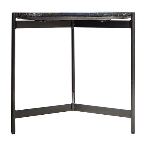 Bali Marble Top Side Table