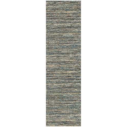 Mehari - Blend II Runner Rug - Blue