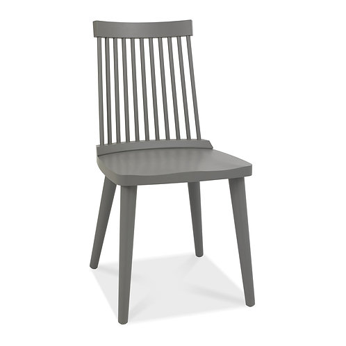 Spindle Chair - Dark Grey (Pair)