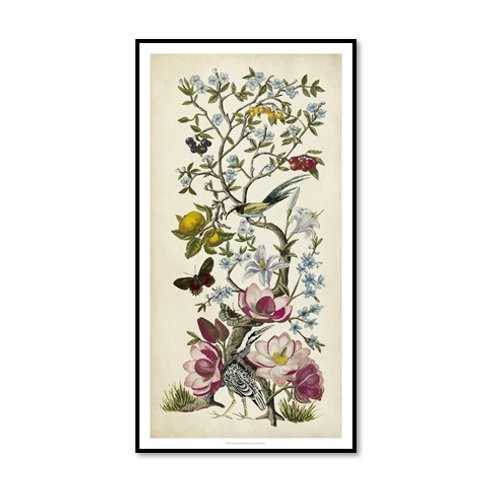 Chinoiserie Natura II - Framed & Mounted