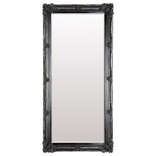 Black Downtown Leaner Mirror