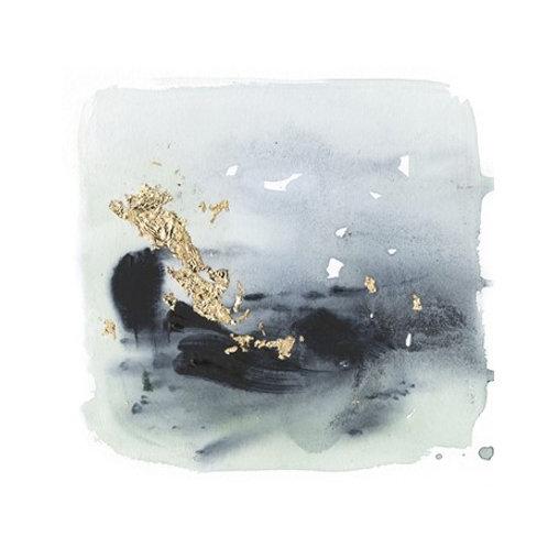 Cerulean & Gold II - Canvas Art
