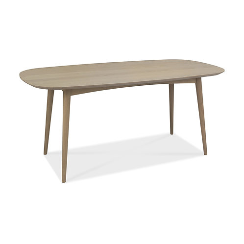 Dansk Scandi Oak 6 Seater Table