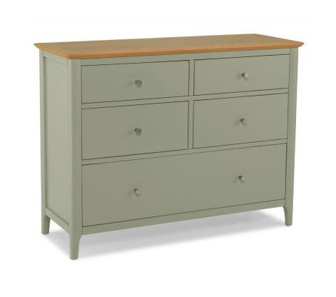 Sedona Painted - 5 Drawer Wide Chest
