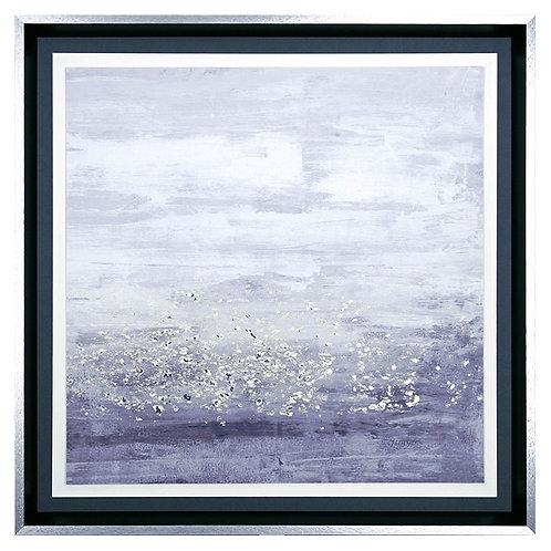 Amethyst Glitter I - Framed Art