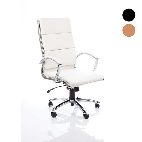 Classic Executive Chair With Arms High Back