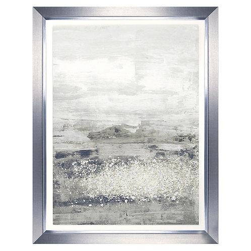 Glitter Rain I - Framed Art