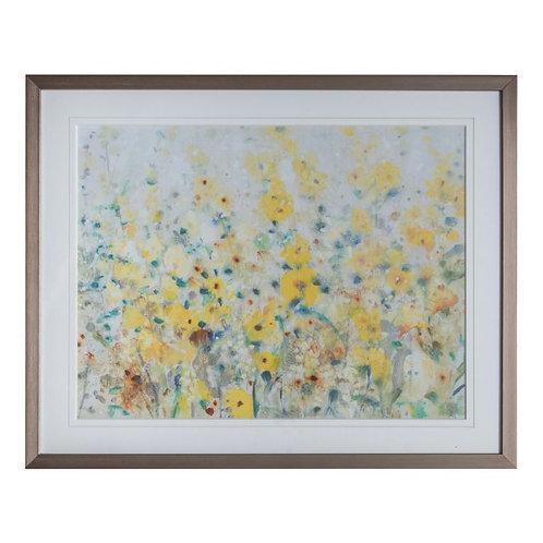 Yellow Blaze - Framed Art