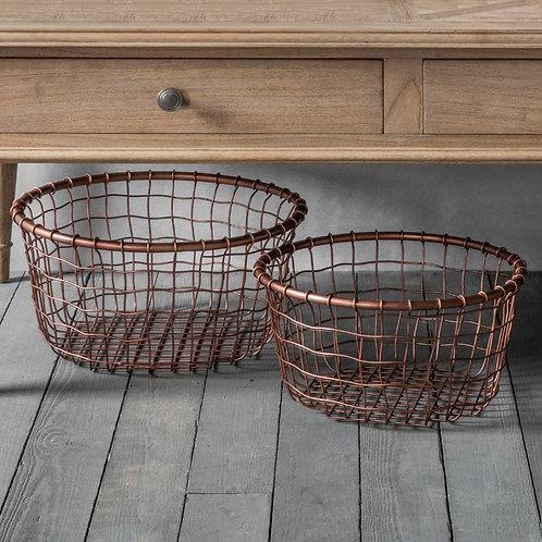 Trio Metal Baskets
