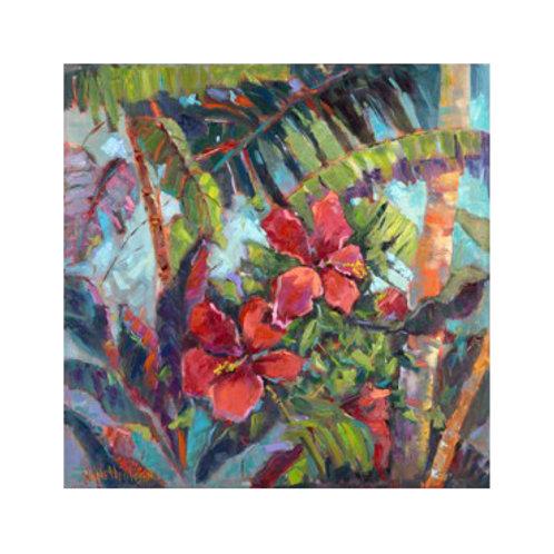 Splash of the Tropics II - Canvas Art