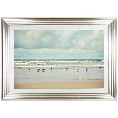 Beach Combing - Framed Art