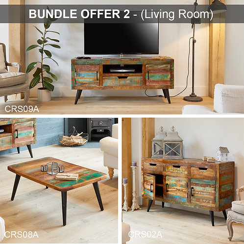 BUNDLE 2 - Coastal Chic (Living Room)