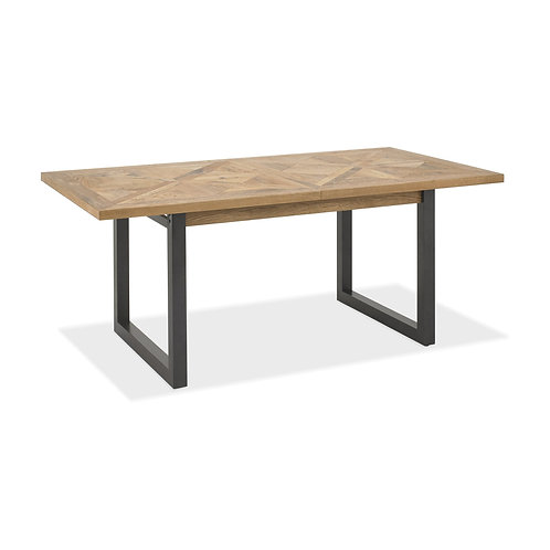 Indus Rustic Oak 6-10 Dining Table