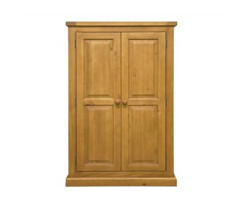 Chunky Pine - Kids Double Wardrobe
