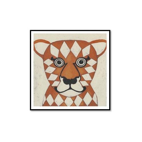 Zoo Portrait II- Framed & Mounted Art