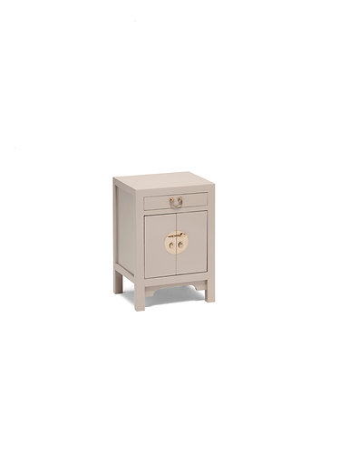 40645 - The Nine Schools Qing Oyster Grey Small Cabinet