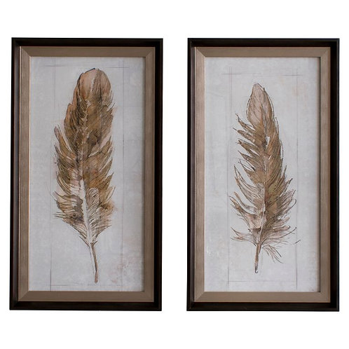 Quil Framed Art - Set of 2