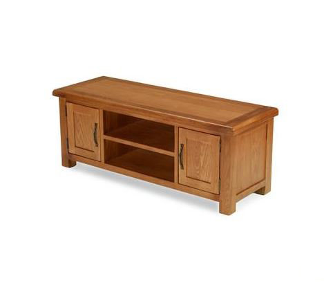 Earlswood Oak - Widescreen TV Unit