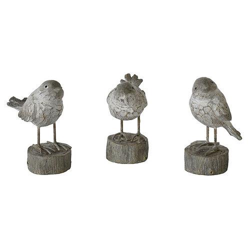Kanpdale Set of 3 Birds