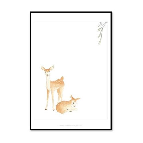 Baby Animals VI - Framed & Mounted Art