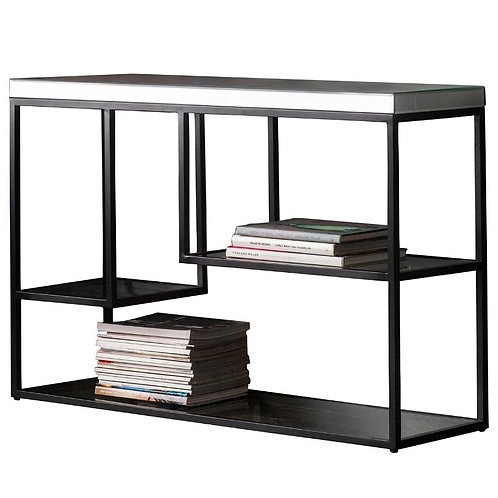 Black Pipson Console Table