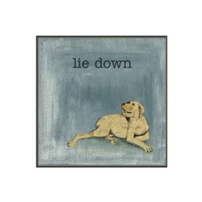 Lie Down - Canvas Art