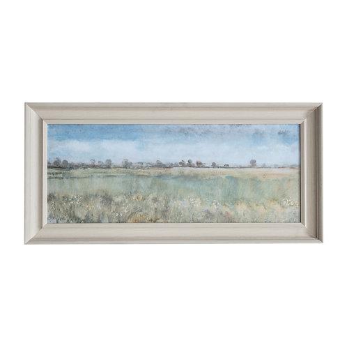 Upon the Fields - Framed Art