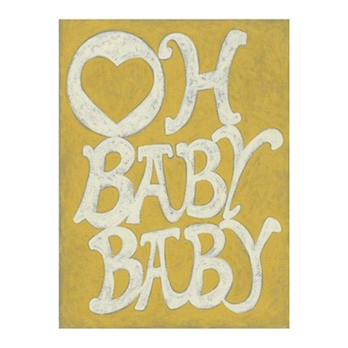 Oh Baby, Baby - Canvas Art