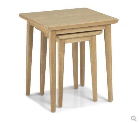 Skien Oak - Nest of 2 Tables