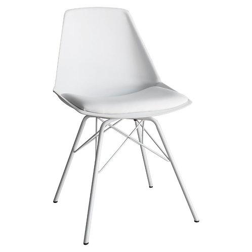 Barnet White Dining Chair - Pack of 4