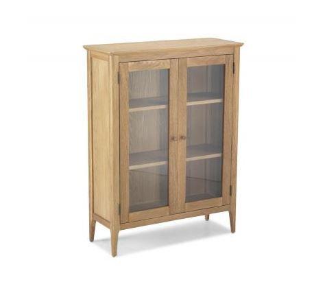 Wardley Oak - Glazed Cabinet