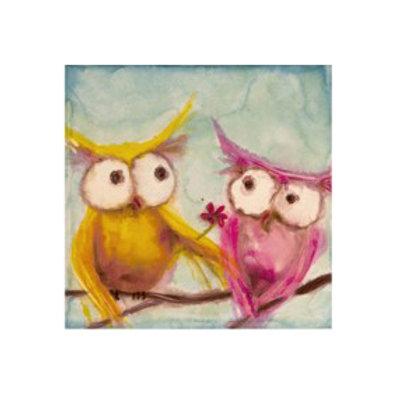 Hoos Smitten - Canvas Art