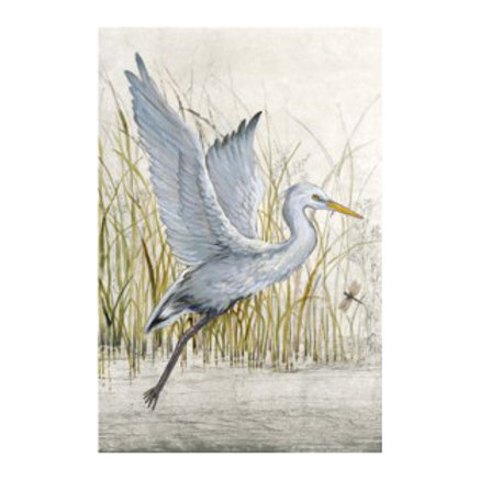 Heron Sanctuary I - Canvas Art