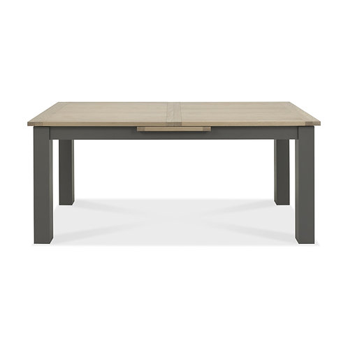 Oakham Dark Grey & Scandi Oak 6-8 Dining Table
