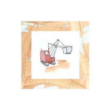 Charlie's Steamshovel- Canvas Art