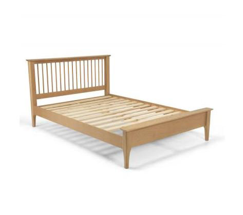 Corbett Oak - Low Foot Bed - Double