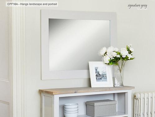 Signature Overmantle Mirror (Hangs Landscape & Portrait)