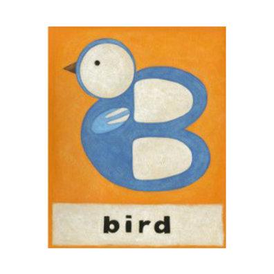 B is for Bird - Canvas Art