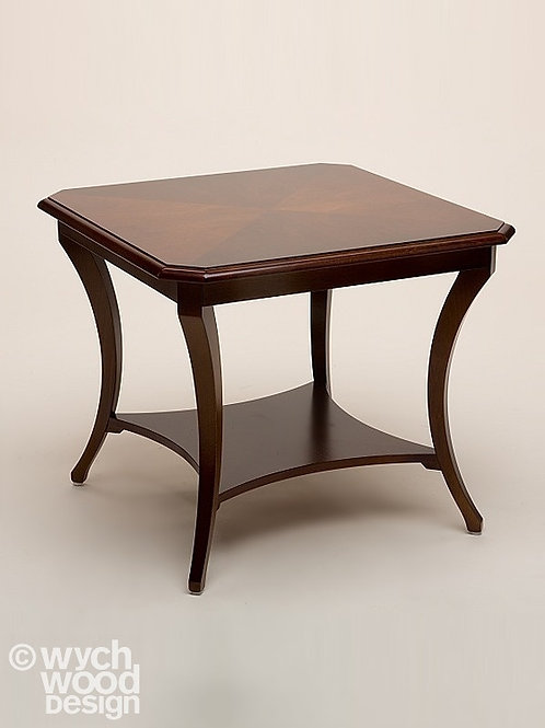 Wooden Square Side Table