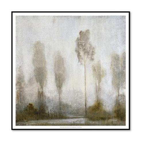 Misty Marsh II - Framed & Mounted