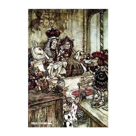 The Mad Tea Party - Canvas Art