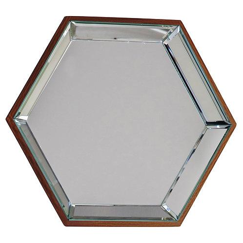Ocean Heaxgon Mirror - Pack of 6